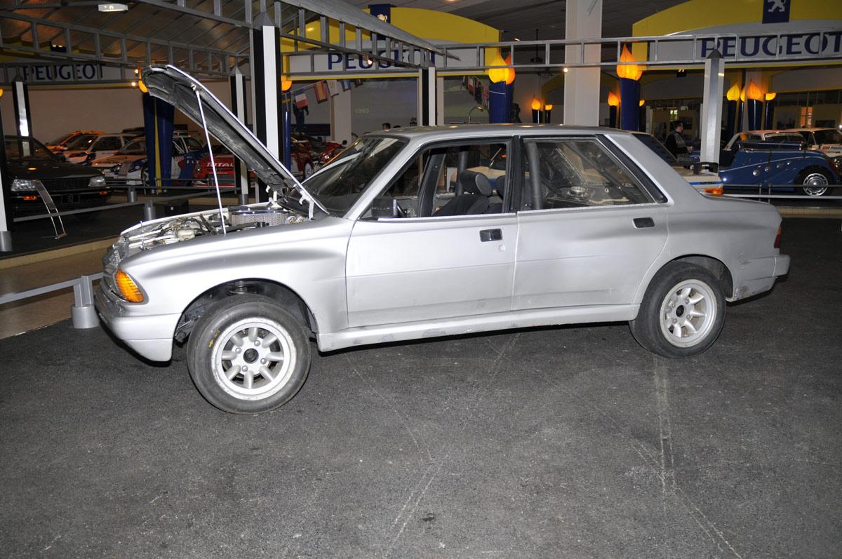 Peugeot 305 Rallye V6 Transaxale