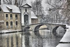 Snow in Bruge 2 Feb 2009 (Lazenby43) Tags: snow belgium brugge bruge mygearandmepremium mygearandmebronze mygearandmesilver mygearandmegold