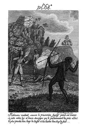 012- Robinson salva a Viernes de los salvajes
