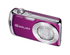 Purple Casio_Exilim_EX-S5 Digital Camera
