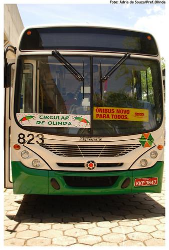 O Circular Olinda passa por vários bairros da cidade com destino aos polos de folia. - Foto: ÁdriadeSouza/Pref.Olinda