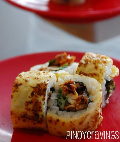 Soft Shell Crab Cheese Maki