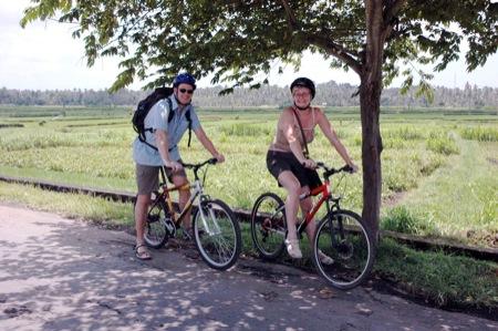 Radtour Ubud Bali Ladybamboo