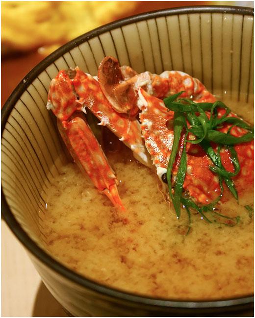 kani-miso-soup