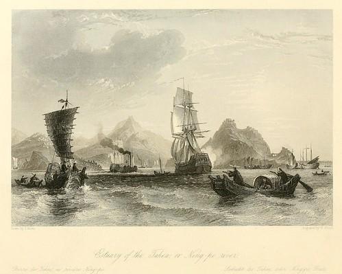 016-Estuario de Tahea o rivera del Ning-po