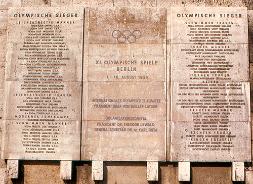Berlin - 1936 Olympic Champions