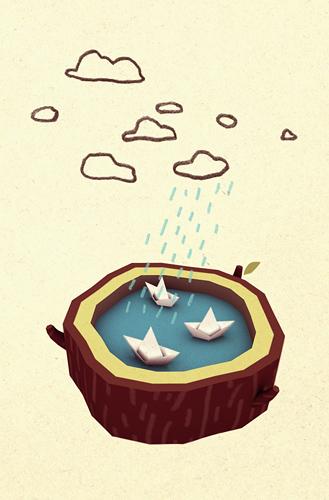 Paper Boats 3D