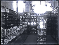 Interior of Green Bros. Jewellers, Hunter Street Newcastle, NSW, 6 September 1910 (Cultural Collections, University of Newcastle) Tags: shop newcastle store display australia nsw 1910 hunterstreet hunterst ralphsnowball snowballcollection ralphsnowballcollection jewellersstore asgn0494b21 greenbrosjewellers greenbros greenbothers newcastleregionnswhistorypictorialworks photographynewsouthwalesnewcastle