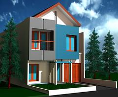 Desain Rumah Minimalis Citra Grand by Indograha Arsitama Desain & Build