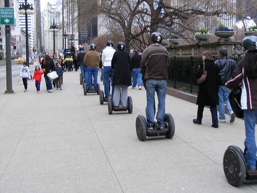 More Segway riders