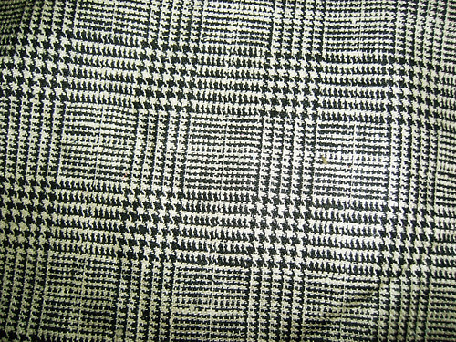 Houndstooth Wool Plaid