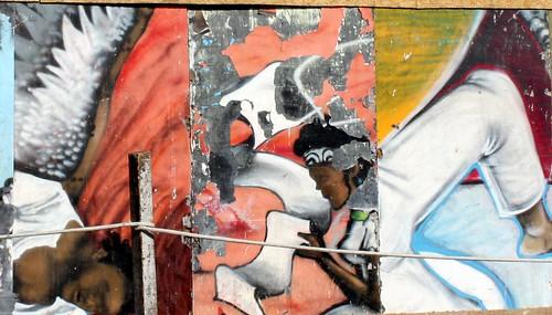 graffiti in cidade alta, salvador