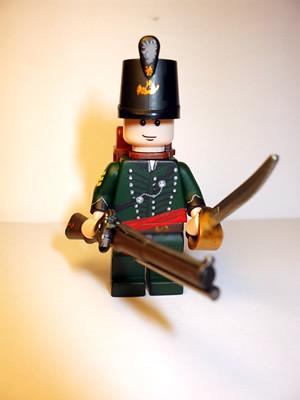 95th Rifles Major Sharpe custom minifig