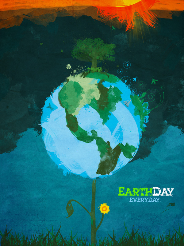 earth day posters contest. in our earthday poster apr