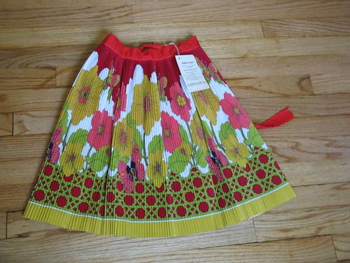 vintage apron-flower pattern