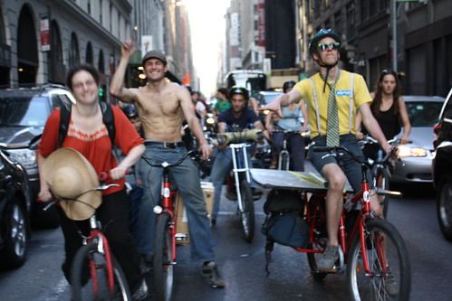 Cruiser ride in Manhattan