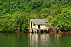 sweethome (kohkut) Tags: sun house beach thailand eclipse waterfall fishing rainforest dive lagoon hut mangrove oceanview beachhouse kood littlehut kohkut