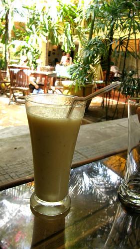045.Boddhi Tree的水果奶昔(應該是加了香蕉)