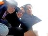 148/365 Friday at the Beach (VirGeenya) Tags: friends españa bus beach dinner lunch dock spain playa seafood amigas cena almuerzo day148 mariscos autobús 365days marmayor