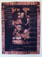 Moonlight Revelations-finished (jeanneaird) Tags: shibori artquilt complexcloth dischargedfabric