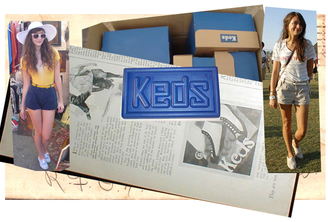 Keds & Shorts: Bonaroo Inspiration