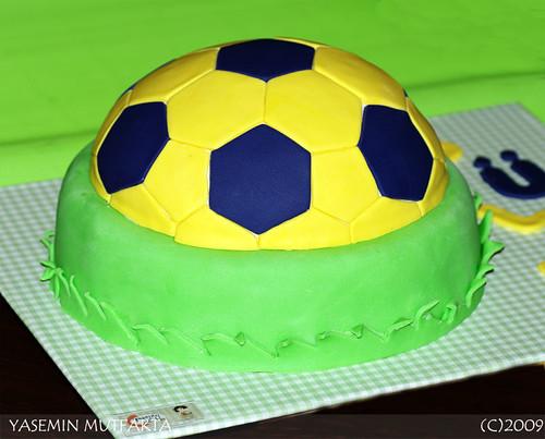 Futbol Topu Pasta / Football Cake