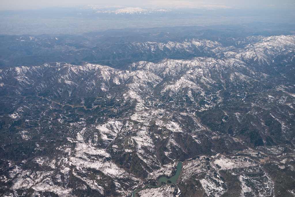 the mountainous region of Yubari