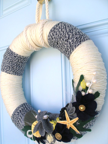 Sailor Yarn Wreath