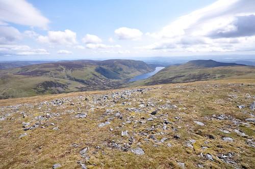 Loch Turret from Ben Chonzie
