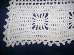 Snowflake Blanket for Amanda - Detail