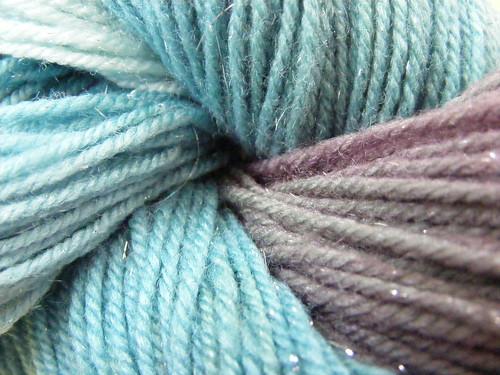 Sparkle Sock Yarn - Detail