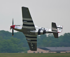 P-51 Mustang 3 (driko) Tags: geotagged andrews aviation airshow mustang p51 jsoh