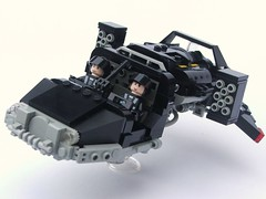 Blacktron Landspeeder Typhoon (Legoloverman) Tags: lego landspeeder