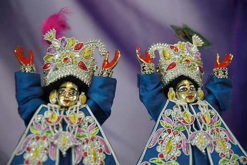 Another devotees Gaura Nitai deities
