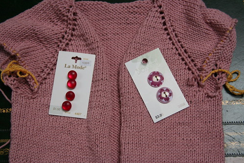 Buttons for Devil's cardi