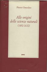 Alle origini delle scienze naturali