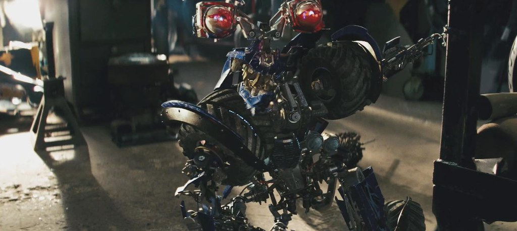 Motos Transformers 2 Wheelie