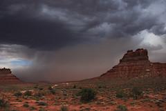 Storm in Valley of Gods... 20090530_9665 (listorama) Tags: storm rain weather clouds landscape geotagged utah sand butte desert wind sandstorm lightning thunder valleyofthegods lightroom sanjuancounty 850w ut2009may