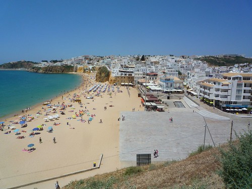 Travelling to the Algarve coast - Portugal