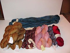 Yarn Haul - Maryland Sheep & Wool 2010