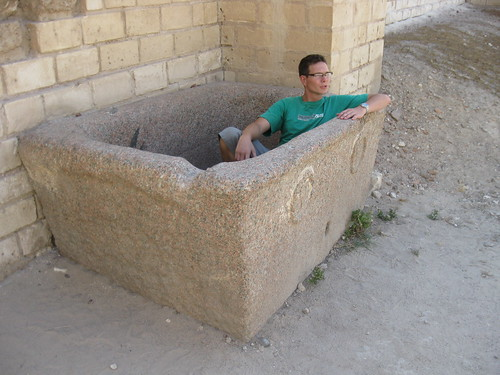 Swiss takes an old school roman bath