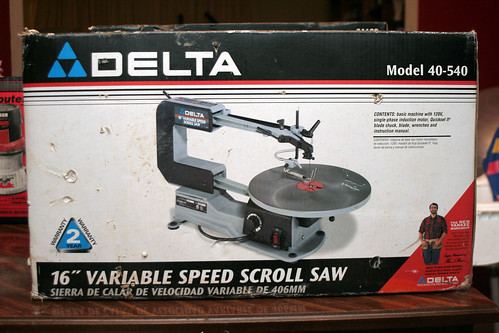 Delta 16in Variable Speed Scroll Saw 40-540