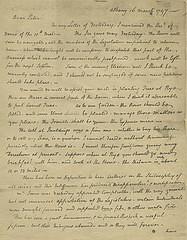 1797 John Jay letter to Peter Augustus -