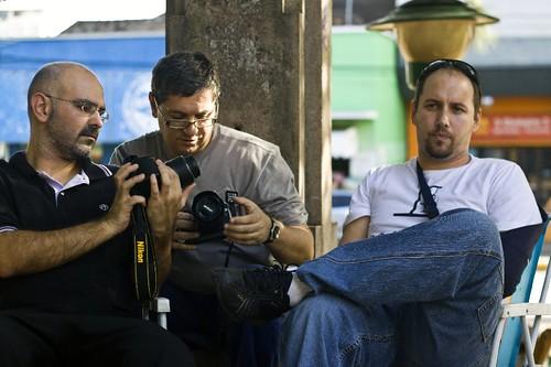 Roberto, Dann e Rodrigo