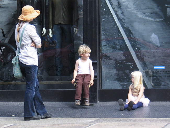 Family in Soho