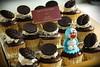 Choco Mocha Cupcake + Doraemon Icing Topper
