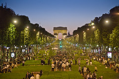 Nature capital Paris Champs Elysees at Night (Feo David) Tags: city trees plants plant paris france tree nature grass night de champselysees la capital champs elyses arc triomphe clear agriculture festivities elysees arcdetriomphe gad weil journe mondiale biodiversit exhibitionspaintingfestivalsandfestivities champselysesnature