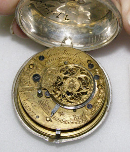Pocket watch by George Fowler, 1863
