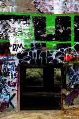 Gateway (Athina Stockman) Tags: 1920s abandoned colors graffiti bright nevada tagging goldhill americanflats athinastockman cyanidemill