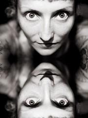 125/365 (obo-bobolina) Tags: portrait bw hannah sp 365 selfie 365days